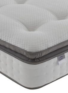 Silentnight Shorelark Mirapocket 2400 Geltex Mattress - Medium 3'0 Single