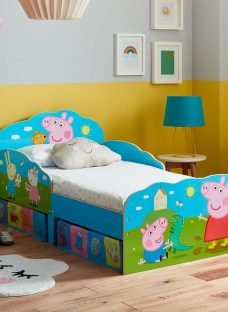 Peppa Pig Toddler Bed With Storage 2'6 Small Single