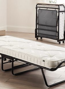 Jay-Be Meadow Folding Bed with Foam Free Anti-Allergy Pocket Sprung Mattress - Small Single 2'6 Small Single