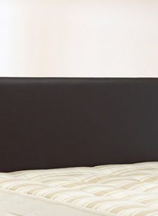 Newark Headboard - Black 5'0 King Faux Leather