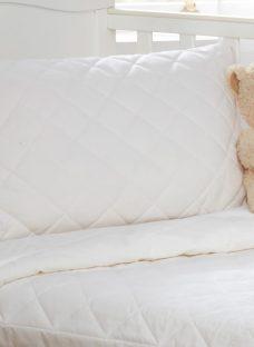 Junior Fine Bedding Soft Wool Pillow - Toddler Size