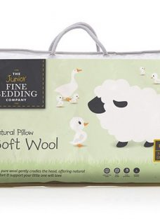 Junior Fine Bedding Soft Wool Pillow - Standard Size