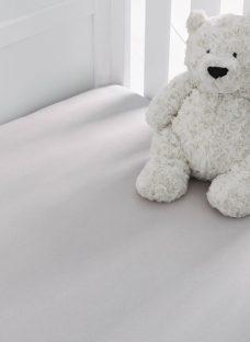 Silentnight Toddler Jersey Fitted Sheet Toddler Grey