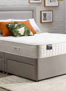 TheraPur ActiGel Plus 1600 Divan Bed - Firm - Ash 5'0 King Other