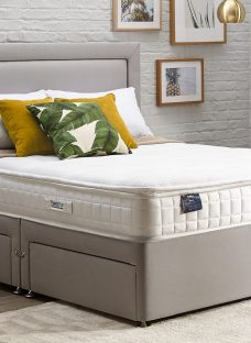 TheraPur ActiGel Plus 24 Divan Bed - Medium Firm - Ash 4'6 Double Other