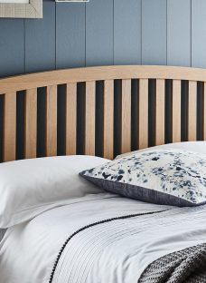 Adelaide Solid Oak Headboard 4'6 Double Natural