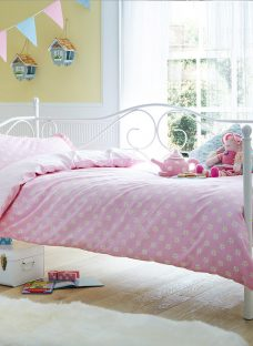 Amy Day Bed White 3'0 Single Metal