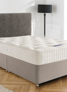 Silentnight Ashridge Sprung-Edge Divan Bed - Firm 4'6 Double Natural