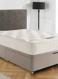 Silentnight Ashridge Mirapocket Ottoman Bed - Firm 4'0 Small Double Natural