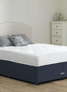 Beaumont Pocket Sprung Divan Bed - Firm - Blue 4'0 Small Double