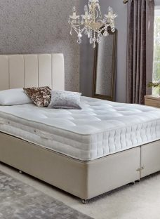 Insignia Bedgebury Pocket Spring Divan Bed - Firm - Beige 5'0 King