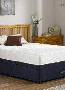 Orchard Pocket Sprung Divan Bed - Firm - Blue 5'0 King