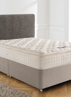 Silentnight Chantilly Mirapocket Divan Bed - Medium Firm 6'0 Super King Natural