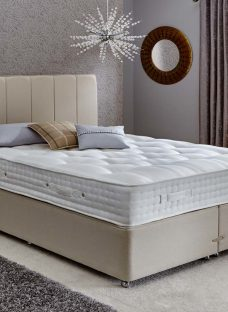 Insignia Charnwood Pocket Sprung Divan Bed - Firm - Oatmeal 6'0 Super King