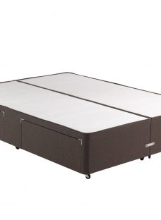 Classic Divan Base - Mocha 4'6 Double Brown