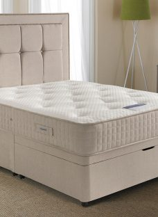 Silentnight Delamere Mirapocket Ottoman Bed - Firm 6'0 Super King Off White