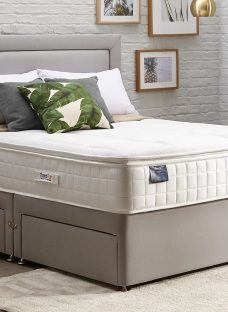 TheraPur ActiGel Plus Divine 2000 Divan Bed - Medium - Ash 6'0 Super King Other