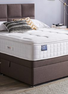 TheraPur ActiGel Plus Divine 2000 Ottoman Bed - Medium - Mink 3'0 Single