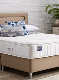 TheraPur ActiGel Plus Divine 2000 Divan Bed with Legs - Medium - Oatmeal 3'0 Single Other