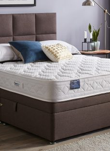 TheraPur ActiGel Divine 20 Ottoman Bed - Medium - Mink 5'0 King