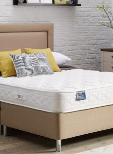 TheraPur ActiGel Divine 20 Divan Bed with Legs - Medium - Oatmeal 6'0 Super King Other