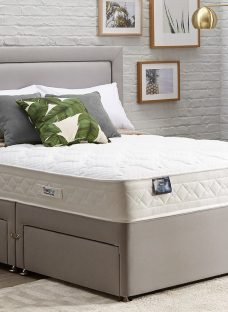 TheraPur ActiGel Divine 800 Divan Bed - Medium - Ash 4'6 Double Other
