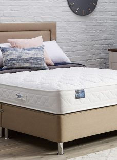 TheraPur ActiGel Divine 800 Divan Bed with Legs - Medium - Oatmeal 4'6 Double Other