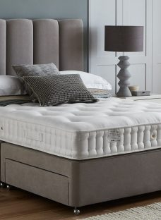 Flaxby Natures Element DNAir Pocket Sprung Luxury Divan Bed - Ash 4'0 Small Double Other