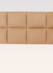 Therapur Embrace Fabric Headboard 4'6 Double Light Brown