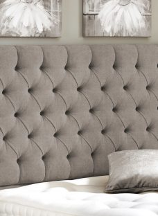 Harrogate Headboard - Stone 5'0 King