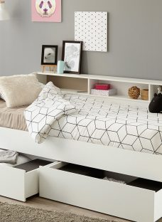 Jamie Day Bed - White 3'0 Single