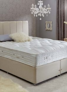 Insignia Leighfield Pocket Sprung Divan Bed - Firm - Oatmeal 6'0 Super King