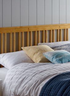 Melton Wooden Headboard 4'6 Double Natural