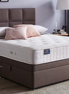 TheraPur ActiGel Plus 1600 Ottoman Bed - Firm - Mink 4'6 Double