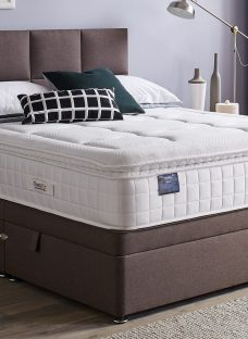 TheraPur ActiGel Plus 3000 Ottoman Bed - Medium Soft - Mink 4'6 Double Other