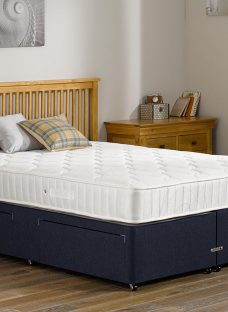 Rapley Pocket Sprung Divan Bed - Medium - Blue 3'0 Single