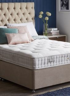 Flaxby Natures Refine DNAir Pocket Sprung Luxury Divan Bed - Natural 3'0 Single Other