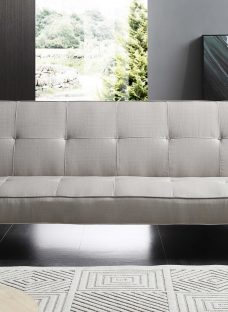Rey Sofa Bed 3 Seater Natural Fabric