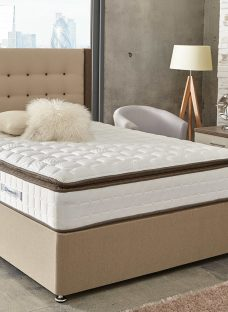 Sealy Posturetech Superior Divan Bed - Harvest 4'0 Small Double Brown
