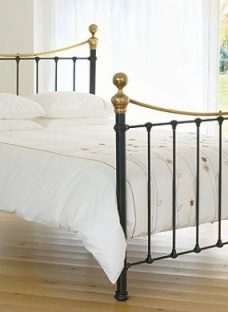 Selkirk Bedstead - Satin Black 6'0 Super King Metal