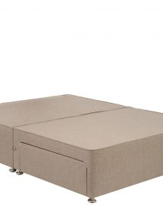 TheraPur Divan Base - Ash 4'6 Double Natural