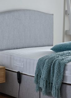 Tramore Adjustable Headboard - Grey 3'0 Single
