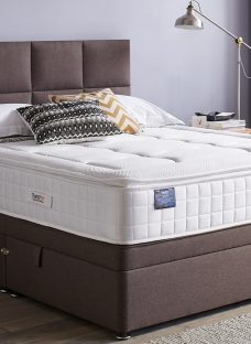 TheraPur ActiGel Tranquil 2000 Ottoman Bed - Medium - Mink 4'6 Double