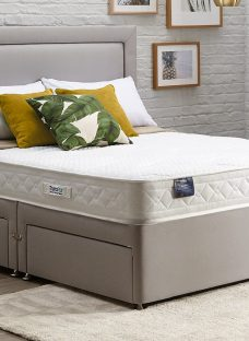 TheraPur ActiGel Tranquil 20 Divan Bed - Medium - Ash 4'6 Double Other