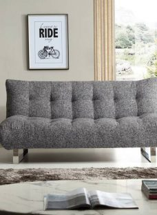 Tyler Grey Sofa Bed 2 Seater Fabric