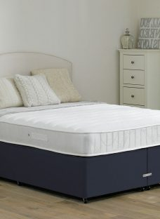 Wakefield Pocket Sprung Divan Bed - Medium - Blue 3'0 Single