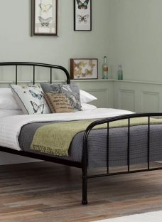 Westbrook Double Black Metal Bed Frame 4'6 Double