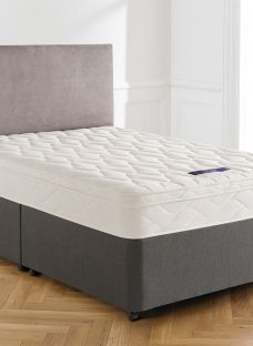 Silentnight Westland Miracoil Divan Bed - Medium Firm 5'0 King Grey
