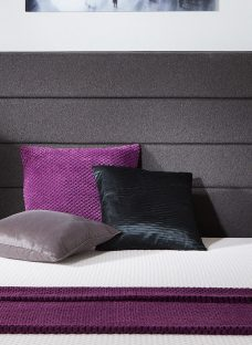 Whitworth Luxury Headboard - Charcoal 6'0 Super King