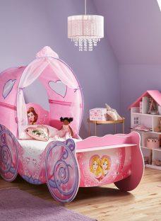 Disney Princess Carriage Toddler Bed Toddler Pink